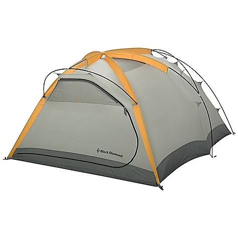 Camp and Hike Free Shipping. Black Diamond Squall 3 Person Tent DECENT FEATURES of the Black Diamond Squall Tent Freestanding, double-wall design 50/50 sleeve/clip, 3-pole with fast-pitch hub set-up Double-end doors and vestibules Adjustable front, rear and top vents Seam-taped 2500 mm polyester fly and 5000 mm nylon floor Optional ground cloth available The SPECS Capacity: 3 Person Season: 4 Doors: 2 Average Packaged Weight: 8 lbs 7 oz / 3.82 kg Minimum Weight: 7 lbs 14 oz / 3.58 kg Dimension: (L X W1 X W2 X H): 90 x 80 x 80 x 48in. / 229 x 203 x 203 x 122 cm Area: 48.1 square feet / 4.5 square meter Vestibule Area: 13.7 + 7.7 square feet / 1.3 + .7 square meter Packed Size: 8 x 24in. / 21 x 61 cm - $599.95