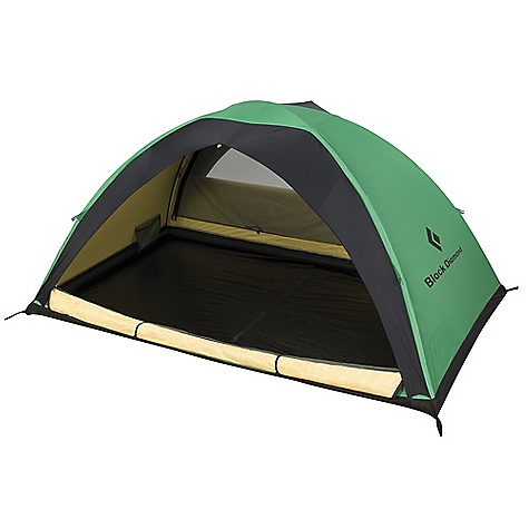 Camp and Hike Free Shipping. Black Diamond Ahwahnee 2 Person Tent DECENT FEATURES of the Black Diamond Ahwahnee Tent Two full side doors and internal mesh doors with wide awnings for rain protection while venting 3 internal aluminum poles for easy setup 2 interior mesh pockets ToddTex single-wall fabric; 100% seam taped 2 optional vestibules available separately Optional ground cloth available The SPECS Capacity: 2 Person Season: 4 Doors: 2 Average Packaged Weight: 6 lbs 15 oz / 3.14 kg, 7 lbs 9 oz / 3.43 kg Minimum Weight: 5 lbs 10 oz / 2.56 kg, 6 lbs 6 oz / 2.85 kg Dimension: (L x W1 x W2 x H): 90 x 53 x 53 x 45in. / 229 x 135 x 135 x 114 cm Area: 33.1 square feet / 3.08 square meter Vestibule Area: Optional Packed Size: 8 x 19in. / 20 x 48 cm - $659.95