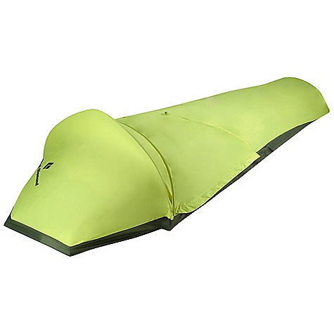 Camp and Hike Free Shipping. Black Diamond Spotlight Bivy DECENT FEATURES of the Black Diamond Spotlight Bivy Single shock-corded DAC Featherlight pole over the head and shoulders Large zippered entry net door Large mesh panel with awning for ventilation Proprietary NanoShield single-wall fabric The SPECS Season: 4 Average Packaged Weight: 1 lb 7 oz / 670 g Dimension: 92 x 30 x 20in. / 234 x 76 x 51 cm Area: 18.5 square feet / 1.7 square meter Weight: 1 lb 2 oz / 510 g Packed Size: 4 x 7.5in. / 10 x 19 cm - $219.95