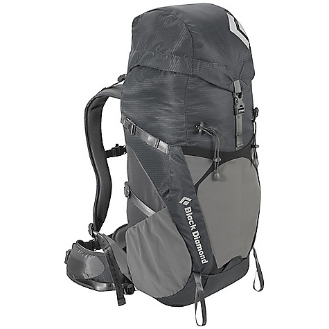 Camp and Hike Free Shipping. Black Diamond Boost Pack DECENT FEATURES of the Black Diamond Men's Boost Pack ergoACTIV suspension with OpenAir backpanel Top-loading with fixed top pocket Soft, Breathable 3D mesh on shoulder straps and adjustable hipbelt (adjustment tool included) Hipbelt stash pocket, Side stretch pockets and front compression stretch pocket Trekking pole/ice axe loops, Hydration compatible Also available as women's-specific Flare The SPECS 210d nylon ripstop, 400d nylon twill The SPECS for Medium Volume: 1,950 cubic inches / 32 liter Average Stock Weight: 2 lbs 14 oz / 1.3 kg The SPECS for Large Volume: 2,075 cubic inches / 34 liter Average Stock Weight: 3 lbs / 1.37 kg OVERSIZE ITEM: We cannot ship this product by any expedited shipping method (3-Day, 2-Day or Next Day). Even if you pick that option, it will still go Ground Shipping. Sorry for being so mean. - $159.95