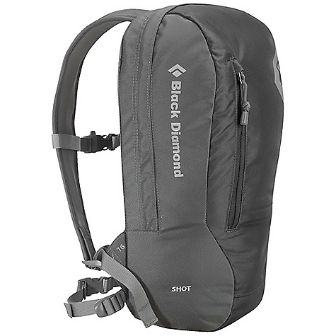 Camp and Hike Free Shipping. Black Diamond Shot Pack DECENT FEATURES of the Black Diamond Shot Pack Removable 25 mm webbing hipbelt Zippered front panel opening Durable 840d Ballistic nylon to withstand climbing wear-and-tear Outer stash pocket Hydration compatible The SPECS Type: Unisex Volume: 980 cubic inches / 16 liter Average Stock Weight: 13 oz / 370 g 840d Ballistic nylon OVERSIZE ITEM: We cannot ship this product by any expedited shipping method (3-Day, 2-Day or Next Day). Even if you pick that option, it will still go Ground Shipping. Sorry for being so mean. - $49.95