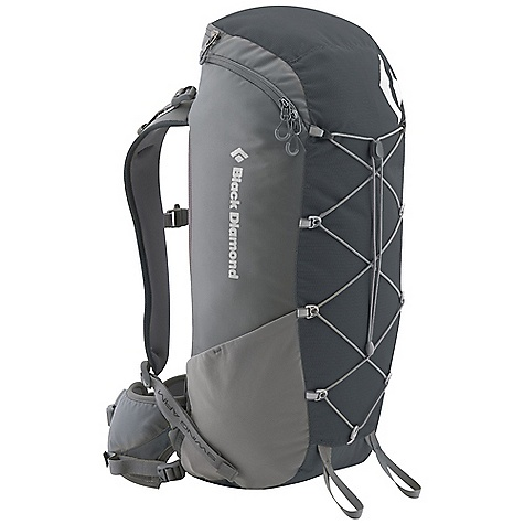 Climbing Free Shipping. Black Diamond Burn Pack DECENT FEATURES of the Black Diamond Men's Burn Pack Patent-pending reACTIV suspension with Open-Air back panel Zippered top-loading access Soft, breathable 3D mesh on hip belt and shoulder straps Hip belt stash pocket, side stretch pockets and front cord compression and storage Trekking pole/ice axe loops, hydration compatible The SPECS Material: 210d nylon ripstop, 400d nylon twill The SPECS for Medium Volume: 1526 cubic inches / 25 liter Average Stock Weight: 2 lbs 3 oz / 1.0 kg The SPECS for Large Volume: 1648 cubic inches / 27 liter Average Stock Weight: 2 lbs 4 oz / 1.02 kg - $129.95