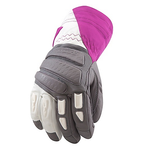 Free Shipping. Black Diamond Women's Prodigy Glove DECENT FEATURES of the Black Diamond Women's Prodigy Glove 100% waterproof and breathable Gore-Tex insert with XCR Product Technology stays with removable liner Woven nylon shell with 4-way stretch Removable liner is insulated with 284 g PrimaLoft One 100 g fleece palm lining Goat leather palm and palm patch Molded EVA foam padding on knuckles for protection and added warmth The SPECS Weight: per pair: 7.8 oz / 222 g Temperature Range: -15/15deg F / -26/-9deg C - $129.95
