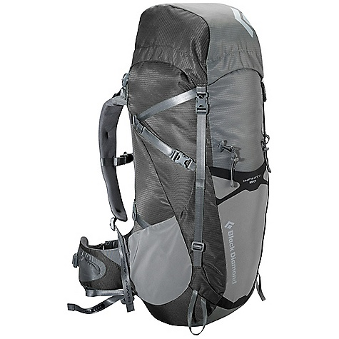 Free Shipping. Black Diamond Infinity 50 Pack DECENT FEATURES of the Black Diamond Men's Infinity 50 Pack ergoACTIV suspension with OpenAir backpanel Top-loading with floating top pocket Soft, Breathable 3D mesh on shoulder straps and removable, Interchangeable hipbelt (tool included) Hipbelt stash pocket, Side stretch pockets and front compression stretch pocket Retractable trekking pole/ice axe loops, Removable sleeping pad straps, Hydration compatible Also available as women's-specific Innova The SPECS 210d nylon ripstop, 420d nylon twill The SPECS for Medium Volume: 3,050 cubic inches / 50 liter Average Stock Weight: 3 lbs 12 oz / 1.7 kg The SPECS for Large Volume: 3,234 cubic inches / 53 liter Average Stock Weight: 3 lbs 13 oz / 1.74 kg OVERSIZE ITEM: We cannot ship this product by any expedited shipping method (3-Day, 2-Day or Next Day). Even if you pick that option, it will still go Ground Shipping. Sorry for being so mean. - $209.95