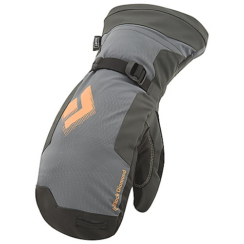 Free Shipping. Black Diamond Men's Mercury Mitt DECENT FEATURES of the Black Diamond Men's Mercury Mitt 100% waterproof BDry insert stays with removable liner Lightweight, abrasion-resistant, woven nylon shell with 4-way stretch Removable liner is insulated with combination 284 g PrimaLoft One and high-loft fleece Goat leather palm, plus palm patch with Kevlar stitching Liner has trigger finger The SPECS Weight: per pair: 11.4 oz / 324 g Temperature Range: -20/-10deg F / -29/-12deg C - $114.95