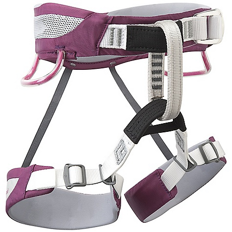 Climbing Black Diamond Wiz Kid Harness DECENT FEATURES of the Black Diamond Wiz Kids' Harness Pre-threaded Speed Adjust waistbelt buckle Bullhorn-shaped OpenAir waistbelt built using Dual Core Construction Patent-pending trakFIT leg adjustment for easy, worry-free customization of OpenAir leg loops 2 pressure-molded gear loops Fits weight range 16 - 50 kg (35-110 lbs) The SPECS Weight: 8.5 oz / 240 g Waist: 22 - 28in. / 56 - 71 cm Legs: 16 - 20in. / 41 - 51 cm Material: 210d nylon twill + 150d polyester mesh, 4-way nylon knit ALL CLIMBING SALES ARE FINAL. - $44.95