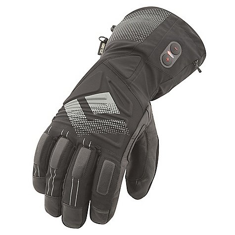 Free Shipping. Black Diamond Men's Cayenne Glove DECENT FEATURES of the Black Diamond Men's Cayenne Glove 3-level heating system provides up to 10 hours of additional warmth Fixed lining with 100% waterproof and breathable Gore-Tex insert with XCR Product Technology Abrasion-resistant leather and woven nylon shell with 4-way stretch Fixed lining has 142 g PrimaLoft One insulation on back of hand for warmer days when the heater is powered off Goat leather palm and palm patch Includes lithium-polymer batteries and charger The SPECS Weight: per pair: 15.2 oz / 432 g Temperature Range: -5/25deg F / -20/-4deg C - $379.95