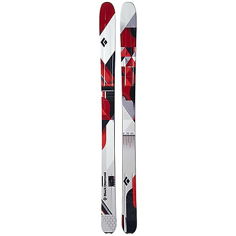 Ski Free Shipping. Black Diamond Verdict Skis DECENT FEATURES of the Black Diamond Verdict Skis Adaptable 102 mm waist and full camber for true all-mountain, go-anywhere skiing Semi-Rocker tip for easy turn initiation and crud-busting Designed for higher speeds, rougher conditions and longer turns than the Warrant; more hard-snow oriented than the Zealot 3D Metal Sandwich with Titanal, paulownia wood core and ABS tapered sidewalls for race-like construction without the weight Formula One Technology with three ribs for maximum torsional stiffness Optimal use: 50% soft snow / 50% hard snow The SPECS Tail Style: Traditional The SPECS for 170 cm Length: 170 cm Dimension: 132 x 102 x 120 Weight: per pair: 9 lbs 1 oz / 4.1 kg Turn Radius: 22 m Tip Style: 236 mm Semi Rocker The SPECS for 180 cm Length: 180 cm Dimension: 134 x 102 x 121 Weight: per pair: 9 lbs 8 oz / 4.3 kg Turn Radius: 23 m Tip Style: 250 mm Semi Rocker The SPECS for 190 cm Length: 190 cm Dimension: 136 x 102 x 123 Weight: per pair: 10 lbs 2 oz / 4.6 kg Turn Radius: 24 m Tip Style: 264 mm Semi Rocker - $839.00