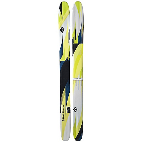 Ski Free Shipping. Black Diamond Gigawatt Skis DECENT FEATURES of the Black Diamond Gigawatt Skis Massive 135 mm waist with our powder-specialty, big-mountain geometry Full-length, de-cambered Rocker for instant turn response when the ski is rolled onto its edge More surface area and usable contact length than the Megawatt Poplar and birch Internal Wall Core Technology for added pop and stability Formula One Technology with three ribs and Torsion Box construction for maximum torsional stiffness Optimal use: 90% soft snow / 10% hard snow The SPECS Dimension: 163 x 135 x 141 Tip Style: Full Length Rocker The SPECS for 185 cm Length: 185 cm Weight: per pair: 11 lbs 11 oz / 5.3 kg Turn Radius: 28 m The SPECS for 195 cm Length: 195 cm Weight: per pair: 12 lbs 9 oz / 5.7 kg Turn Radius: 31 m - $979.00