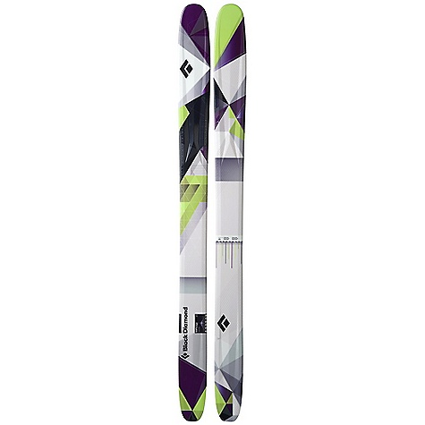 Ski Free Shipping. Black Diamond Amp Skis DECENT FEATURES of the Black Diamond Amp Skis Floaty 115 mm waist and underfoot camber for effortless transitions from powder to hardpack Full tip and tail Rocker for playful, high performance, creative skiing Quicker and more freestyle-oriented than the Zealot Poplar and birch Internal Wall Core Technology, plus an Ollie Bar in the tail for extra pop on takeoffs and preventing wheelie-outs on landings Formula One Technology with three ribs and Torsion Box construction for maximum torsional stiffness Optimal use: 70% soft snow / 30% hard snow The SPECS for 165 cm Length: 165 cm Dimension: 139 x 115 x 123 Weight: per pair: 9 lbs 1 oz / 4.1 kg Turn Radius: 20 m Tip Style: 357 mm Rocker Tail Style: 285 mm Rocker The SPECS for 175 cm Length: 175 cm Weight: per pair: 9 lbs 8 oz / 4.3 kg Dimension: 141 x 115 x 123 Turn Radius: 21 m Tip Style: 378 mm Rocker Tail Style: 303 mm Rocker The SPECS for 185 cm Length: 185 cm Weight: per pair: 10 lbs 2 oz / 4.6 kg Dimension: 142 x 115 x 124 Turn Radius: 22 m Tip Style: 400 mm Rocker Tail Style: 320 mm Rocker - $789.00