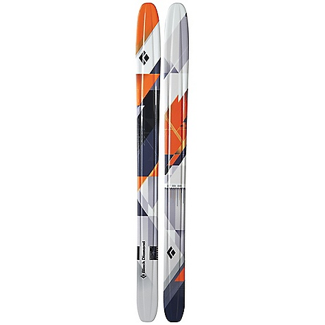 Ski Free Shipping. Black Diamond Megawatt Skis DECENT FEATURES of the Black Diamond Megawatt Skis Wide 125 mm waist (or 120 mm on 178 cm), plus a supportive tip and a shifted-back wide point for an improved sidecut sweet-spot Rocker tip and Semi-Rocker tail for surfy balance in any soft snow condition More forgiving-with less surface area and quicker short turns-than the Gigawatt Poplar and birch Internal Wall Core Technology for added pop and stability Formula One Technology with three ribs and Torsion Box construction for maximum torsional stiffness Optimal use: 80% soft snow / 20% hard snow The SPECS for 178 cm Length: 178 cm Dimension: 145 x 120 x 126 Weight: per pair: 9 lbs 11 oz / 4.4 kg Turn Radius: 33 m Tip Style: 426 mm Rocker Tail Style: 213 mm Semi Rocker The SPECS for 188 cm Length: 188 cm Dimension: 151 x 125 x 131 Weight: per pair: 11 lbs 4 oz / 5.1 kg Turn Radius: 35 m Tip Style: 450 mm Rocker Tail Style: 225 mm Semi Rocker - $899.00