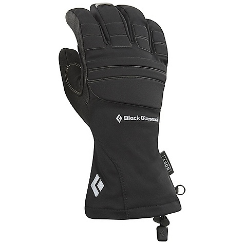 Free Shipping. Black Diamond Men's Specialist Glove DECENT FEATURES of the Black Diamond Men's Specialist Glove Fixed lining with 100% waterproof BDry insert Woven nylon, abrasion-resistant shell with 4-way stretch Full goat leather palm with Kevlar stitching and a goat leather palm patch Fixed lining has high-loft fleece on back of hand and [eks] fleece on palm Ice tool-specific pre-curved fit and articulated fingers for a secure grip EVA foam padding for impact protection The SPECS Type: Unisex Weight per pair: 7.8 oz / 220 g Temperature Rating: 10/40deg F / -12/4deg C - $109.95