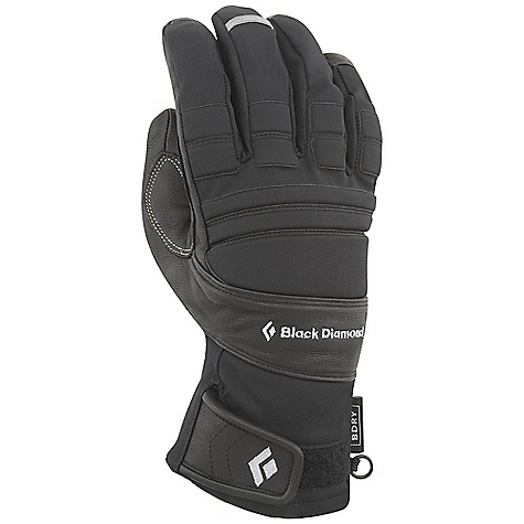 Free Shipping. Black Diamond Men's Punisher Glove DECENT FEATURES of the Black Diamond Men's Punisher Glove Fixed lining with 100% waterproof BDry insert Woven nylon, abrasion-resistant shell with 4-way stretch Goat leather palm and capped fingers Fixed 100 g fleece lining Pre-curved fit and articulated fingers for a secure grip EVA foam padding for impact protection The SPECS Type: Unisex Weight per pair: 6.3 oz / 178 g Temperature Rating: 15/40deg F / -9/4deg C - $89.95