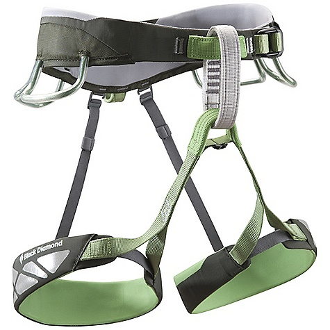 Climbing Free Shipping. Black Diamond Focus Climbing Harness DECENT FEATURES of the Black Diamond Focus Climbing Harness Pre-threaded Forged Speed Adjust waist belt buckle Bullhorn-shaped waist belt and leg loops built using Dual Core XP Construction 4 pressure-molded gear loops plus rear 5th loop Bombshell abrasion patches are 20 times more durable than standard nylon fabric Rappel backup clip-in loop 12 kN-rated haul loop The SPECS Weight: 12 oz / 340 g 210d nylon twill + 420d nylon oxford 4-way nylon knit The SPECS for Small Waist: 27 x 30in. / 69 x 76 cm Leg: 19 x 21in. / 48 x 53 cm The SPECS for Medium Waist: 30 x 33in. / 76 x 84 cm Leg: 21 x 23in. / 53 x 58 cm The SPECS for Large Waist: 33 x 36in. / 84 x 91 cm Leg: 23 x 25in. / 58 x 63 cm The SPECS for Extra Large Waist: 36 x 39in. / 91 x 99 cm Leg: 25 x 27in. / 64 x 69 cm - $79.95