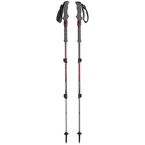 Camp and Hike Free Shipping. Black Diamond Trail Shock Compact Trekking Pole DECENT FEATURES of the Black Diamond Trail Shock Compact Trekking Pole Dual-density grip and 360-degree padded webbing strap Non-slip foam grip extension Control Shock Technology Double FlickLocks Interchangeable carbide Tech Tips and lowprofile Trekking Baskets Compact is a shorter, 125 cm version with reduced grip size The SPECS Usable Length: 24 x 49in. / 62 x 125 cm Collapsed Length: 24in. / 62 cm Weight: per pair: 1 lb 4 oz / 570 g - $119.95