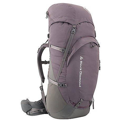 Free Shipping. Black Diamond Women's Onyx 75 Pack DECENT FEATURES of the Black Diamond Women's Onyx 75 Pack ergoACTIV XP suspension with OpenAir backpanel Top-loading with floating top pocket, Plus front zippered access Waterproof taping on top and bottom Compartment divider, Side and hipbelt pockets, Front and internal organizer pockets Retractable trekking pole/ice axe loop, Sleeping pad straps, Hydration compatible Waterproof taping on top and bottom Also available as men's-specific Mercury The SPECS 400d polyester twill + 420d nylon twill The SPECS for Small Volume: 4,577 cubic inches / 75 liter Average Stock Weight: 4 lbs 12 oz / 2.14 kg The SPECS for Medium Volume: 4,699 cubic inches / 77 liter Average Stock Weight: 4 lbs 14 oz / 2.18 kg - $289.95
