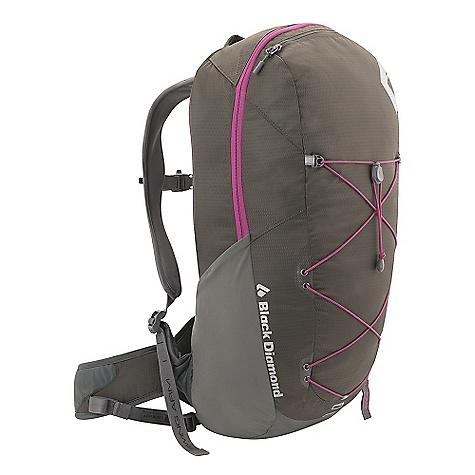 Camp and Hike Free Shipping. Black Diamond Women's Chase Pack DECENT FEATURES of the Black Diamond Women's Chase Pack ergoACTIV suspension with OpenAir backpanel Zippered panel access Soft, breathable 3D mesh on hipbelt and shoulder straps Hipbelt stash pocket, side stretch pockets, and front cord compression and storage Retractable trekking pole/ice axe loop, bike light slot, hydration compatible Also available as men's-specific Sonic The SPECS 210d nylon ripstop, 400d nylon twill The SPECS for Small Volume: 1,340 cubic inches / 22 liter Average Stock Weight: 2 lbs 5 oz / 1.05 kg The SPECS for Medium Volume: 1,465 cubic inches / 24 liter Average Stock Weight: 2 lbs 6 oz / 1.08 kg - $139.95