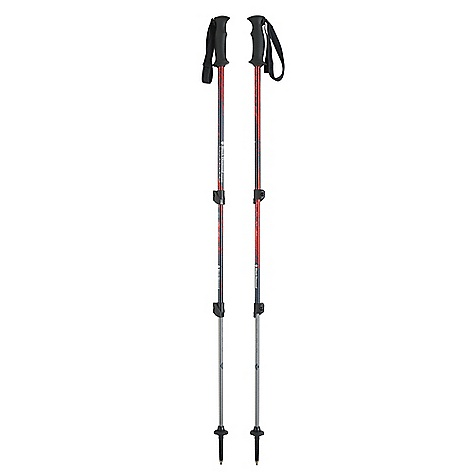 Camp and Hike Free Shipping. Black Diamond Trail Back Trekking Pole DECENT FEATURES of the Black Diamond Trail Back Trekking Pole Rubber grip with nylon webbing strap Double FlickLocks Long Flex Tips, low-profile Trekking Baskets and Powder Baskets The SPECS Usable Length: 26 x 55in. / 65.5 x 140 cm Collapsed Length: 25in. / 63.5 cm Weight: per pair: 1 lb 4 oz / 575 g - $79.95