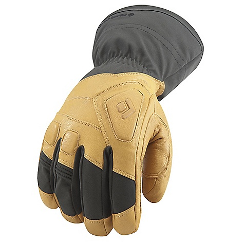 Free Shipping. Black Diamond Guide Gloves DECENT FEATURES of the Black Diamond Men's Guide Gloves 100% waterproof and breathable Gore-Tex insert with XCR Product Technology stays with removable liner Abrasion-resistant, woven nylon shell with 4-way stretch Removable liner features 142 g PrimaLoft One and boiled wool 100 g fleece palm lining Goat leather palm and palm patch Molded EVA foam padding on knuckles for impact protection The SPECS Weight: per pair: 11 oz / 312 g Temperature Rating: -20/10deg F / -29/-12deg C - $169.95