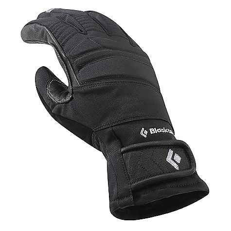 Free Shipping. Black Diamond Men's Punisher Pro DECENT FEATURES of the Black Diamond Men's Punisher Pro Fixed lining with waterproof and breathable Gore-Tex XTRA-FIT Product Technology maximizes protection and minimizes palm roll Abrasion-resistant woven nylon shell with 4-way stretch Fixed 100 g fleece lining Goat leather palm and capped fingers Ice tool-specific pre-curved fit and articulated fingers for a secure grip EVA foam padding for impact protection The SPECS Type: Unisex Weight: per pair: 6.8 oz / 192 g Temperature Range: 15/40deg F / -9/4deg C - $129.95
