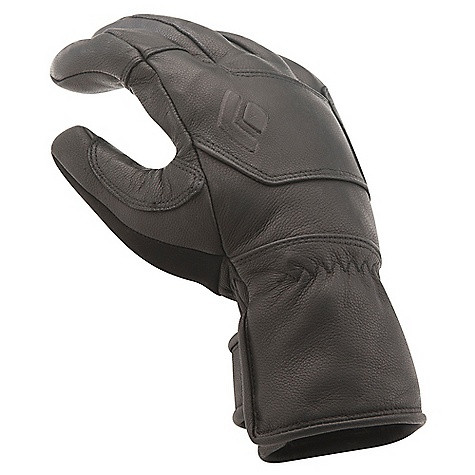 Free Shipping. Black Diamond Kingpin Glove DECENT FEATURES of the Black Diamond Kingpin Glove Full goat leather shell with goat leather palm patch Fixed 100 g fleece lining Short cuff with hook-and-loop closure The SPECS Type: Unisex Weight: per pair: 5.5 oz / 156 g Temperature Range: 10/30deg F / -12/-1deg C - $89.95