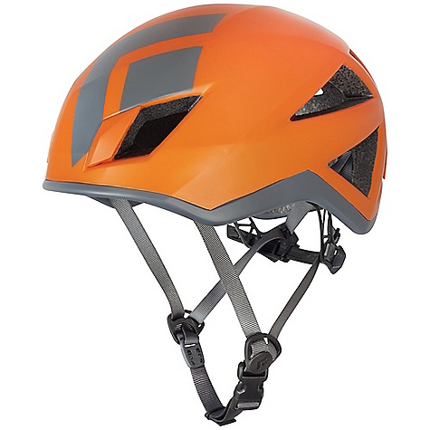 Climbing Features of the Black Diamond Vector Helmet Co-molded EPS foam with polycarbonate shell Large ventilation ports provide max airflow Ratchet adjuster with molded push buttons In-mold headlamp clips for ultra-secure attachment Tuck-away suspension makes for compact storage - $74.96
