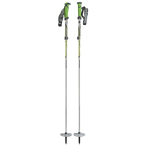 Ski Free Shipping. Black Diamond Compactor Pole DECENT FEATURES of the Black Diamond Compactor Pole 3-section foldable aluminum shaft with speed cone deployment Touring Series grip with fluted interior for weight reduction Touring Series strap with lightweight webbing and plastic ladder-lock buckle Textured grip extension for quick, secure choke-ups 100 mm Compact Powder Baskets with 2-section pole capture FlickLock Pro security and adjustability up to 20 cm The SPECS for 105-125 cm Useable Length: 41-49in. / 105-125 cm Collapsed Length: 15in. / 38 cm Weight per pair: 1 lb 6 oz / 625 g The SPECS for 115-135 cm Useable Length: 45-53in. / 115-135 cm Collapsed Length: 16in. / 40 cm Weight per pair: 1 lb 7 oz / 640 g - $119.95