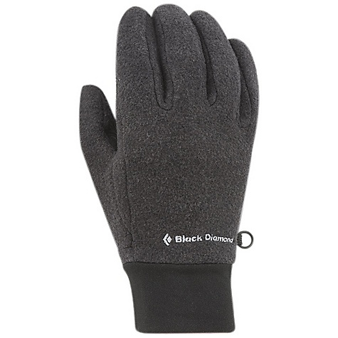 Black Diamond WoolWeight Gloves DECENT FEATURES of the Black Diamond WoolWeight Gloves 320 g Polartec Thermal Pro 51% recycled polyester / 44% wool / 5% nylon blend for improved durability Goat leather palm The SPECS Type: Unisex Weight: per pair: 2.1 oz / 60 g Temperature Range: 25/40deg F / -4/4deg C - $42.95