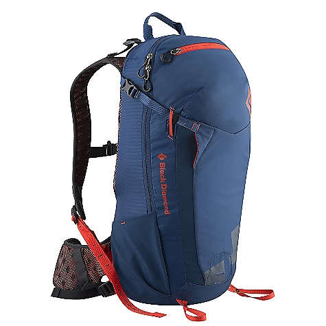 Camp and Hike Free Shipping. Black Diamond Nitro Pack DECENT FEATURES of the Black Diamond Nitro Pack Patent-pending reACTIV suspension with Open-Air back panel Zippered front-panel access Soft, breathable 3D mesh on hip belt and shoulder straps Hip belt stash pocket, side stretch pockets and front compression stretch pocket Trekking pole/ice axe loops, hydration compatible The SPECS Material: 210d nylon ripstop, 400d nylon twill The SPECS for Medium Volume: 1340 cubic inches / 22 liter Average Stock Weight: 2 lbs 1 oz / 940 g The SPECS for Large Volume: 1465 cubic inches / 24 liter Average Stock Weight: 2 lbs 2 oz / 980 g - $119.95