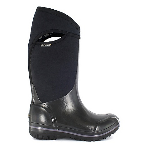 On Sale. Free Shipping. Bogs Women's Plimsoll Tall Boot DECENT FEATURES of the Bogs Women's Plimsoll Tall Boot 100% Waterproof Sleeker look with a sneaker fit Durable hand-lasted rubber over a four way stretch inner bootie Constructed with 7mm waterproof Neo-Tech insulation Max-Wick moisture wicking lining to stay dry and comfortable Non-marking and self-cleaning outsole Aegis antimicrobial odor protection insole Easy-on pull handles Comfort rated from temperate to -40deg F This product can only be shipped within the United States. Please don't hate us. - $93.99