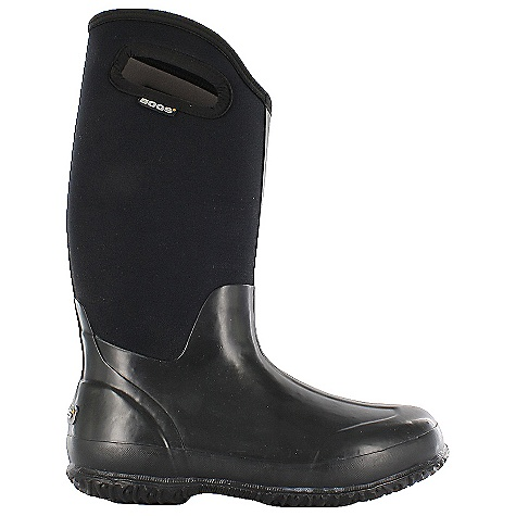 Free Shipping. Bogs Women's Classic High Solids Boot DECENT FEATURES of the Bogs Women's Classic High Solids Boot 100% Waterproof Natural hand-lasted rubber and a four way stretch inner bootie Easy pull on handles 7mm bogs Neo-tech insulation Bogs max-Wick moisture-wicking lining to stay dry and comfortable Dual-density, contoured EVA insole with DuraFresh anti-odor protection Non-slip, non-marking and self-cleaning outsole Comfort rated from temperate to -40deg F Internal midsole with rubber sponge delivers extra cushion and warmth This product can only be shipped within the United States. Please don't hate us. - $115.95