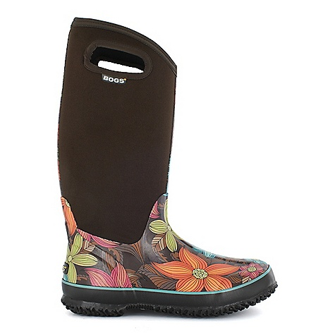 Free Shipping. Bogs Women's Classic High Stargazer Boot DECENT FEATURES of the Bogs Women's Classic High Stargazer Boot 100% Waterproof Durable hand-lasted rubber over a four way stretch inner bootie Constructed with 7mm waterproof Neo-Tech insulation Max-Wick moisture wicking lining to stay dry and comfortable Non-marking and self-cleaning outsole Aegis antimicrobial odor protection insole Easy-on pull handles Comfort rated from temperate to -40deg F This product can only be shipped within the United States. Please don't hate us. - $109.95