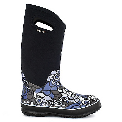 Free Shipping. Bogs Women's Classic High Vintage Boot DECENT FEATURES of the Bogs Women's Classic High Vintage Boot 100% Waterproof Durable hand-lasted rubber over a four way stretch inner bootie Constructed with 7mm waterproof Neo-Tech insulation Max-Wick moisture wicking lining to stay dry and comfortable Non-marking and self-cleaning outsole Aegis antimicrobial odor protection insole Easy-on pull handles Comfort rated from temperate to -40deg F This product can only be shipped within the United States. Please don't hate us. - $109.95