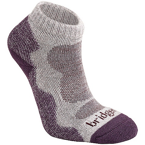 Bridgedale Women's Bamboo Lo Sock DECENT FEATURES of the Bridgedale Women's Bamboo Lo Sock Double cuff, low cut height Next to skin freshness and highly breathable Lycra construction in the heel for improved fit - $12.95