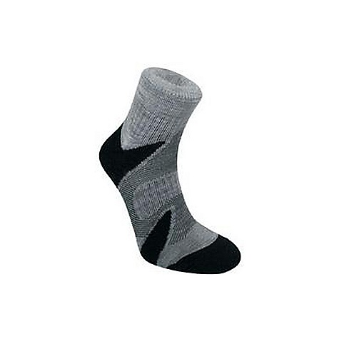 Camp and Hike Bridgedale Men's Cool Fusion Multisport Sock DECENT FEATURES of the Bridgedale Men's X-Hale Multisport Sock Ideal for speed hiking, cycling, running and cross training Anatomically shaped cushioning 360 degrees of venting broadly cools the foot Best sock for warm weather comfort - $15.95