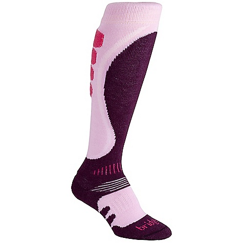 On Sale. Bridgedale Women's Winter Midweight Heel Fit Sock DECENT FEATURES of the Bridgedale Women's Winter Midweight Heel Fit Sock Sculpted features to reduce bulkiness Warm and comfortable forefoot Mapped heel and ankle cushioning improves heel fit - $14.99