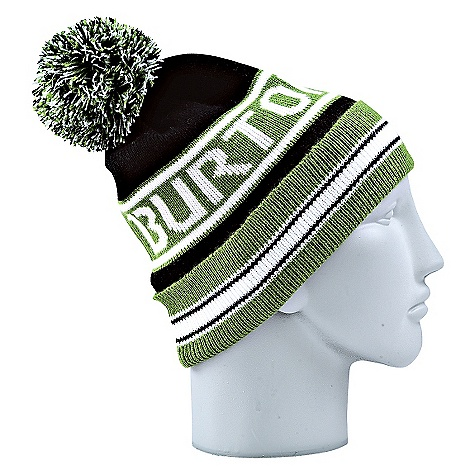 Entertainment On Sale. Burton Men's Trope Beanie DECENT FEATURES of the Burton Men's Trope Beanie 100% Acrylic Vintage Striped Beanie with Pom Fold Up with Skully Fit This product can only be shipped within the United States. Please don't hate us. - $11.99