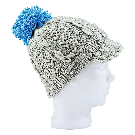 Entertainment On Sale. Burton Women's Yoo Hoo Beanie DECENT FEATURES of the Burton Women's Yoo Hoo Beanie 100% Acrylic Hand Knit Visor Beanie with Pom Slouch Fit This product can only be shipped within the United States. Please don't hate us. - $14.99