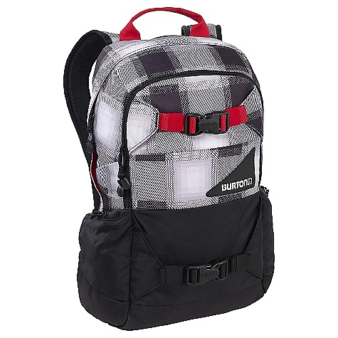 Ski On Sale. Free Shipping. Burton Day Hiker 20L DECENT FEATURES of the Burton Day Hiker 20L Easy access internal shovel storage pocket Ergonomic Back Panel blends EVA with a super ballistic material called TPU Hydration compatible Fleece-lined goggle / sound pocket Padded laptop compartment (12in x 10.5in x 1.5in) Vertical board carry which prevents the tail of your board from banging against your legs for fatigue-free, balanced hiking. Waist strap built with everything from super cushioned foam to stealth, low-profile webbing. The SPECS 1.9 lbs 20L (19in x 11in x 8in) 420D High-Density Nylon 600D Polyester Cush Ergonomic Shoulder Harness Dimension Polyant X-Pac Sailcloth (Red Dawn Colorway) Distressed 600D Polyester with Geisha Print Lining (Gray Market Colorway) Mountain Logo Embroidery This product can only be shipped within the United States. Please don't hate us. - $44.99