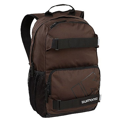 Snowboard On Sale. Burton Treble Yell Pack DECENT FEATURES of the Burton Treble Yell 21L Pack Vertical Skate Carry Magazine / Laptop Sleeve Cush Ergonomic Shoulder Harness Mesh Water Bottle Pockets The SPECS Weight: 1.5 lbs / 0.7 kg Dimension: 18.5in. x 12in. x 7in. / 47 x 31 x 17 cm Fabric: 600D Polyester / 450D Polyester (All Other Colorways) 300D Polyspun Cotton Blend (Camo) Air Textured Polyester CD Blend with Heat Emboss (Eclipse Checkerboard) 300D Two-Tone Heathered Polyester (Pewter Heather) 500D Asymmetrical Two-Tone Ripstop (Tidal Bore) 600D Full Dull Vintage Inspired Oxford Weave Polyester (Cobalt, Crimson, and Spicy Mustard) This product can only be shipped within the United States. Please don't hate us. - $19.99