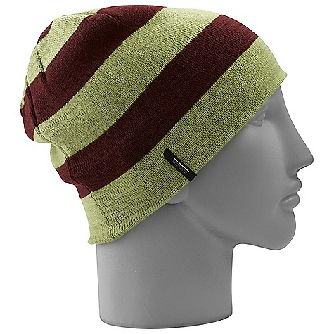 Entertainment On Sale. Burton Men's Silverman Beanie DECENT FEATURES of the Burton Men's Silverman Beanie 100% Acrylic Reversible Wide Stripes with Contrast Solid Reverse Skully Fit This product can only be shipped within the United States. Please don't hate us. - $9.99