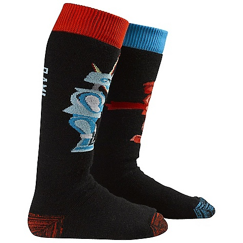 Snowboard On Sale. Burton Boys Party Sock DECENT FEATURES of the Burton Boys' Party Sock Varying Blends of Nylon, Acrylic, Merino Wool, and Spandex Quick-Drying and Stink- Proof Polypropylene Reinforced Footbed Medium-Density Cushioning Throughout Sock Elastic Arch and Ankle Supports Chafe-Free Link Toe Seam Stay High Comfort Band Midweight This product can only be shipped within the United States. Please don't hate us. - $12.99