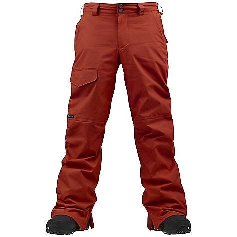 Snowboard On Sale. Free Shipping. Burton Men's TWC Throttle Pant DECENT FEATURES of the Burton Men's TWC Throttle Pant Waterproofing: Dryride Durashell 2-Layer Fabric Warmth: Mapped with Mesh Lining Mesh-Lined Inner Thigh Vents Fully Taped Seams Thigh Pocket with Velcro Closure Includes Men's The White Collection Pant Features Package This product can only be shipped within the United States. Please don't hate us. - $88.99