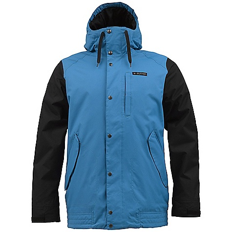 Snowboard On Sale. Free Shipping. Burton Men's TWC Throttle Jacket DECENT FEATURES of the Burton Men's TWC Throttle Jacket Waterproofing: Dryride Durashell 2-Layer Fabric Warmth: Mapped with Thermacore Insulation (60G Body / 40G Sleeves) and Taffeta Lining Mesh-Lined Pit Zips Critically Taped Seams Fulltime Hood Magic Stitch Waist Gaiter with Jacket-to-Pant Interface Includes Men's The White Collection Jacket Features Package This product can only be shipped within the United States. Please don't hate us. - $100.99