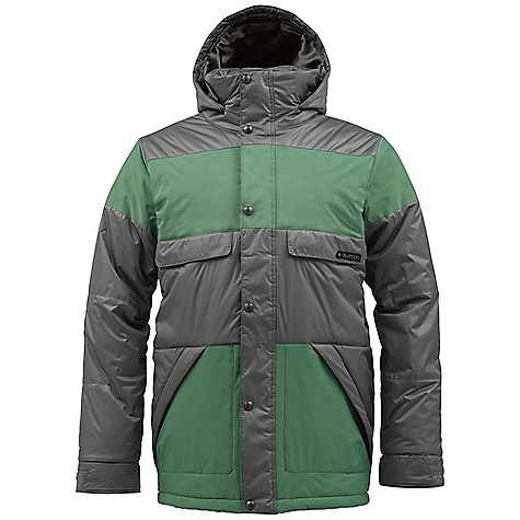 Snowboard On Sale. Free Shipping. Burton Men's TWC Warm And Friendly Jacket DECENT FEATURES of the Burton Men's TWC Warm And Friendly Jacket Waterproofing: Dryride Durashell 2-Layer Fabric Warmth: Mapped with Thermacore Insulation (200G Body / 120G Sleeves / 60G Hood) and Satin Lining Mesh-Lined Pit Zips Fulltime Hood Critically Taped Seams Chest Stash Pockets Removable Lycra Hand Panties Magic Stitch Waist Gaiter with Jacket-to-Pant Interface Includes Men's The White Collection Jacket Features Package This product can only be shipped within the United States. Please don't hate us. - $136.99