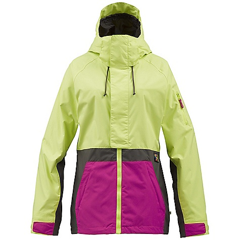 Snowboard On Sale. Free Shipping. Burton Women's Tula Jacket DECENT FEATURES of the Burton Women's Tula Jacket Waterproofing: Dryride Durashell 2-Layer Twill Fabric Warmth: mapped with Sherpa Fleece and Taffeta Lining Mesh-Lined Pit Zips Critically Taped Seams Fulltime Contour Hood Plush Collar Removable Waist Gaiter with Jacket-to-Pant Interface Includes Women's Burton Jacket Features Package This product can only be shipped within the United States. Please don't hate us. - $150.99