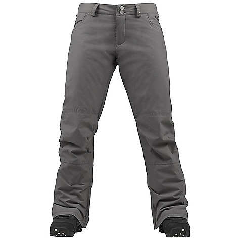 Snowboard On Sale. Free Shipping. Burton Women's Society Pant DECENT FEATURES of the Burton Women's Society Pant Waterproofing: Dryride Durashell 2-Layer Flat Face Woven Fabric Warmth: mapped with 3M Thinsulate Insulation (40G Throughout) and Taffeta Lining Mesh-Lined Inner Thigh Vents Includes Women's Burton Pant Features Package This product can only be shipped within the United States. Please don't hate us. - $106.99