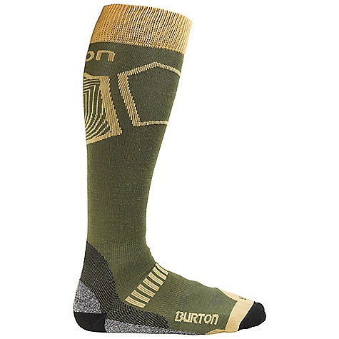 Snowboard On Sale. Burton Men's Ultralight Wool Sock DECENT FEATURES of the Burton Men's Ultralight Wool Sock 48% Nylon / 18% Merino Wool / 18% Acrylic / 8% NanoGlide / 6% Polypropylene / 2% Spandex Quick-Drying and Stink- Proof Polypropylene Reinforced Footbed Elastic Arch and Ankle Supports Chafe-Free Link Toe Seam Sock Lock Reinforcements DryrideUltrawick Venting Toe Panels Ergonomic, Articulated Left and Right MotionFit Stay High Comfort Band Lightweight This product can only be shipped within the United States. Please don't hate us. - $11.99