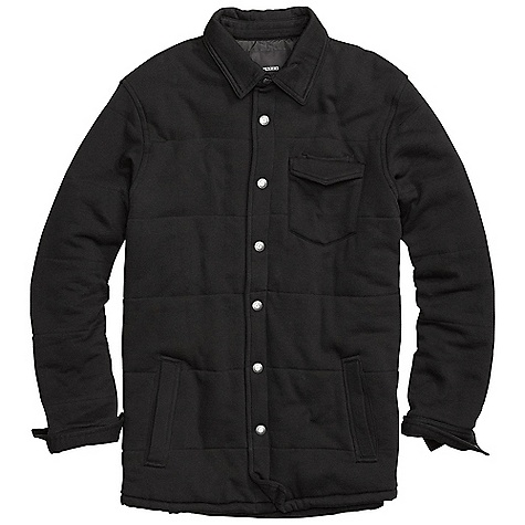 Snowboard On Sale. Free Shipping. Burton Men's Stratsford Quilted Fleece Shirt DECENT FEATURES of the Burton Men's Stratsford Quilted Fleece Shirt 80% Cotton, 20% Polyester, 280G Fleece Quilted Snap-Front Double Layered Chest Pocket Signature Fit This product can only be shipped within the United States. Please don't hate us. - $58.99