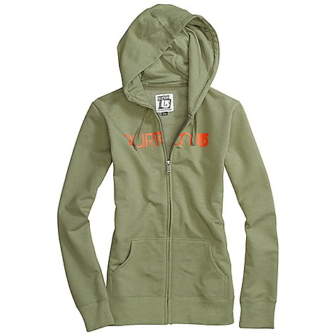 Snowboard On Sale. Free Shipping. Burton Women's Her Logo Basic Full-Zip Hoodie DECENT FEATURES of the Burton Women's Her Logo Basic Full-Zip Hoodie 85% Cotton, 12% Polyester, 3% Spandex, 280G Fleece Sig Fit This product can only be shipped within the United States. Please don't hate us. - $34.99